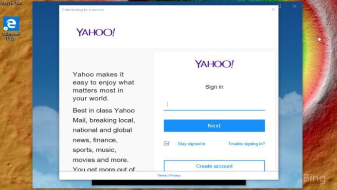 Windows 10 Mail Add Yahoo