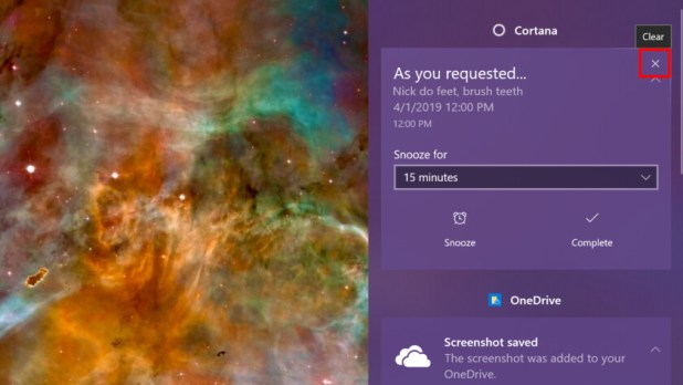 Windows 10 close notification - How to use notifications in Windows 10