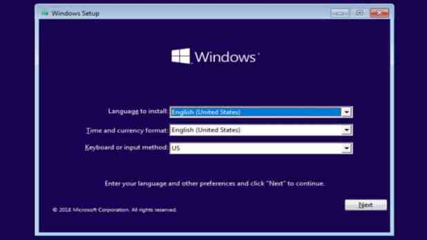 Windows 10 install prompt