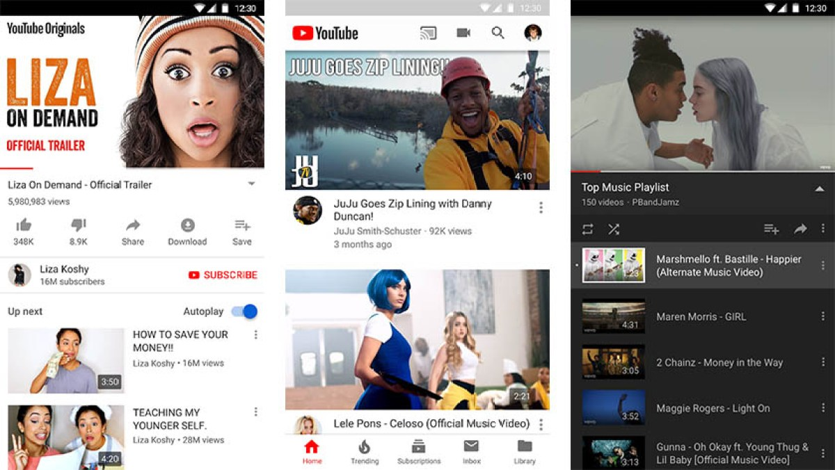 YouTube Premium screenshot for the best magic apps list