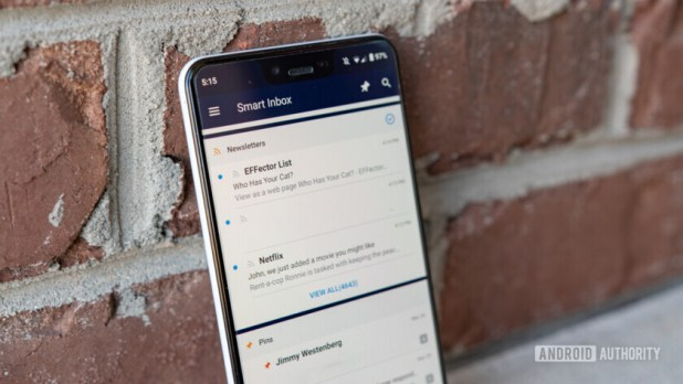 Spark for Android Smart Inbox