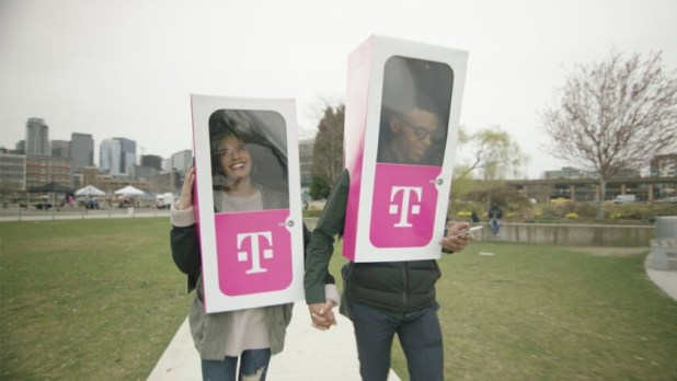 The mobile Phone BoothE by T-Mobile for April Fool's Day.