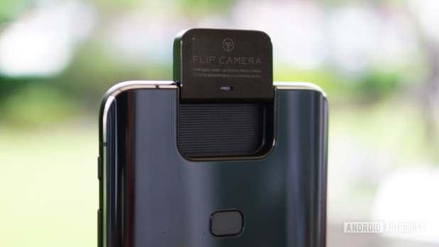Asus Zenfone 6 flip camera closeup rear 1