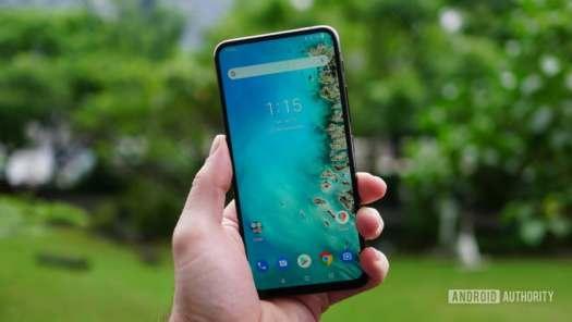 Asus Zenfone 6 home screen display