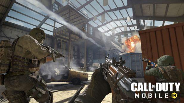 Screenshot of Call of Duty: Mobile.