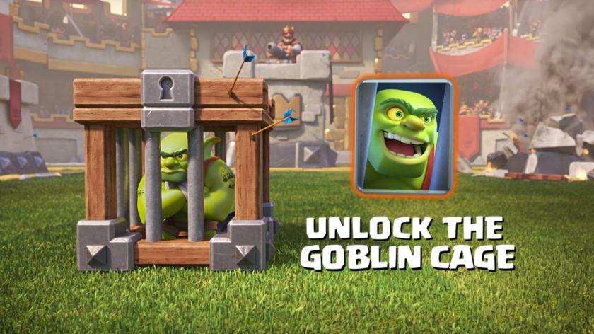Clash Royale new card Gobllin Cage