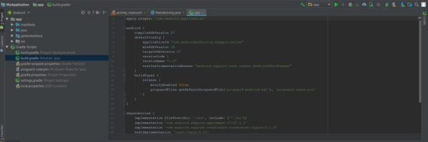 Build file Gradle