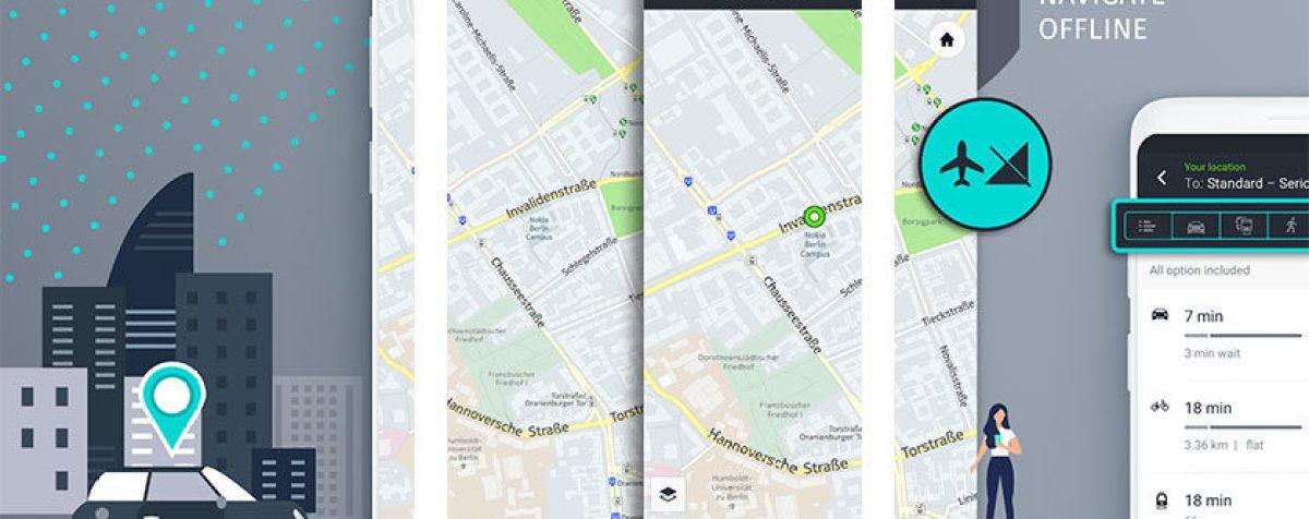 Здесь WeGo является одним из лучших навигационных приложений для Android