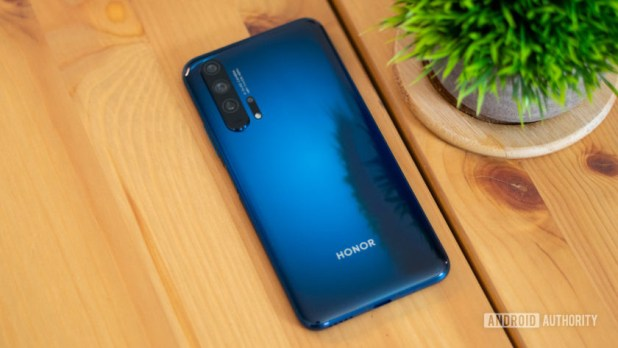 Honor 20 Pro rear glass