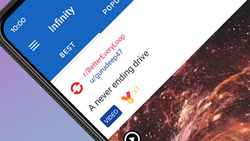 Infinity best reddit apps for android