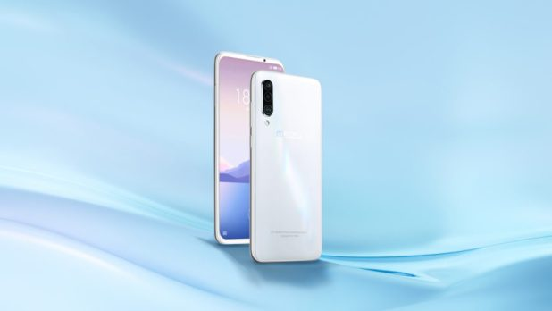 Official render of the Meizu 16XS.