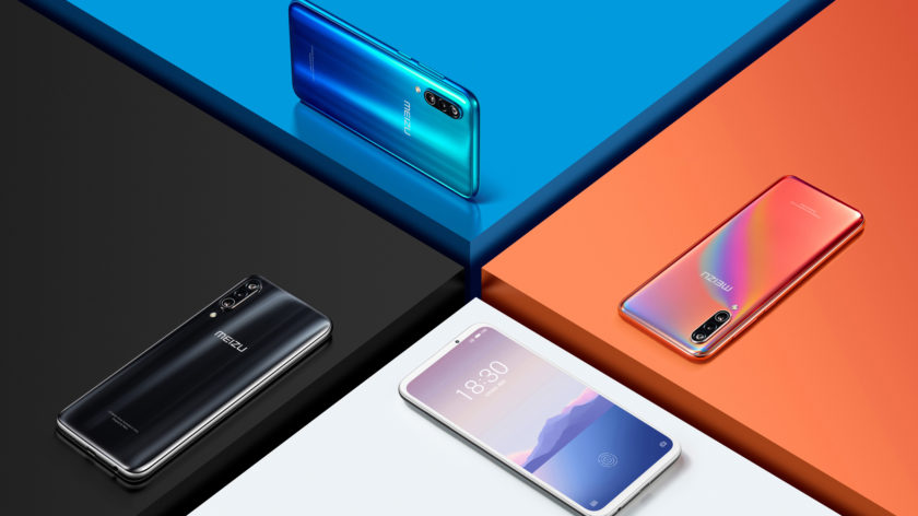 Official render of the Meizu 16XS 3