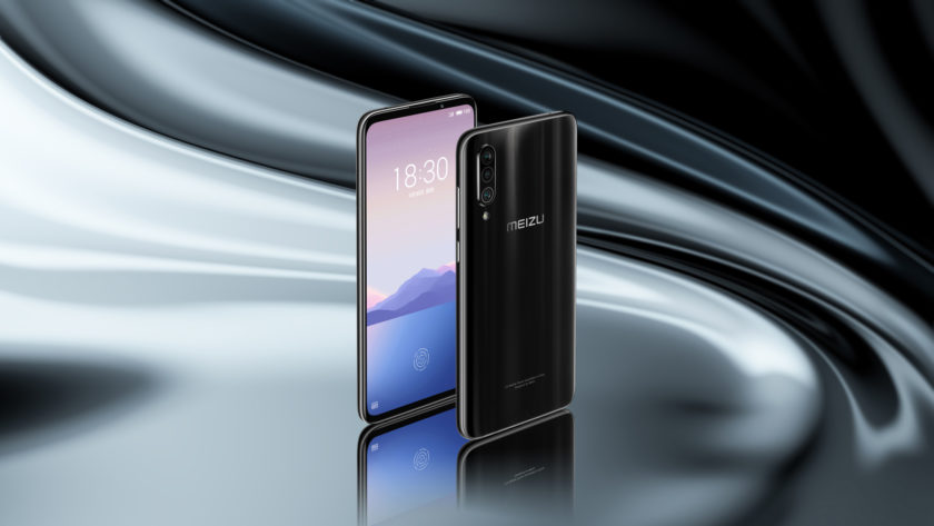 Official render of the Meizu 16XS 2