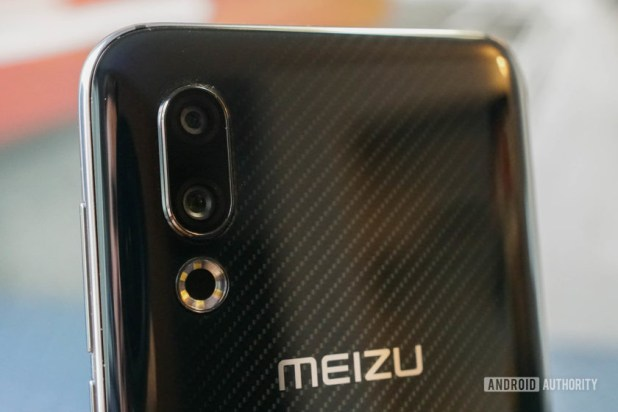 Meizu 16s rear facing cameras