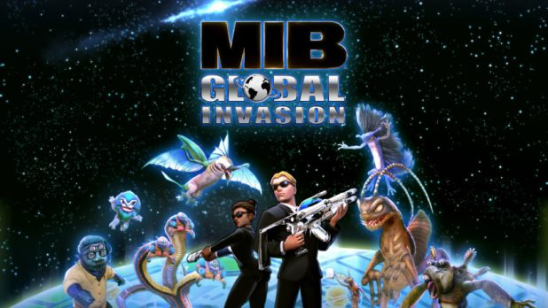 Official artwork for the Men In Black Global Invasion mobile game.