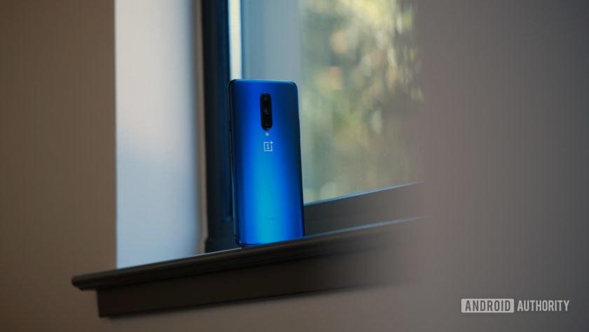OnePlus 7 Pro in window