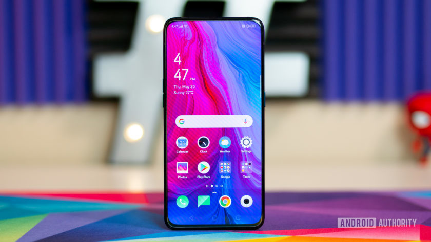 Oppo Reno 10x Zoom -- best phone with expandable memory