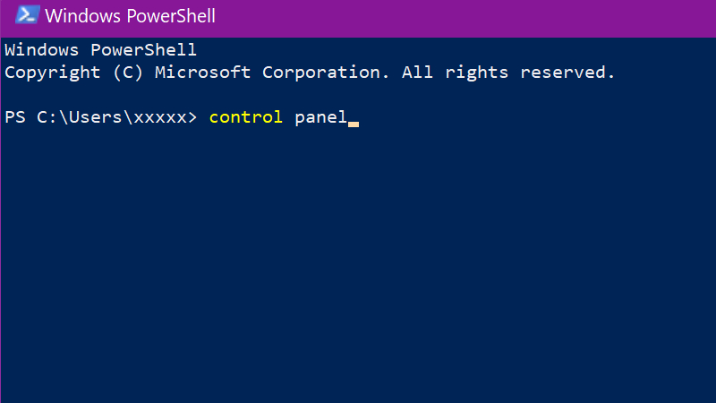 PowerShell Control Panel - How to find Control Panel in Windows 10