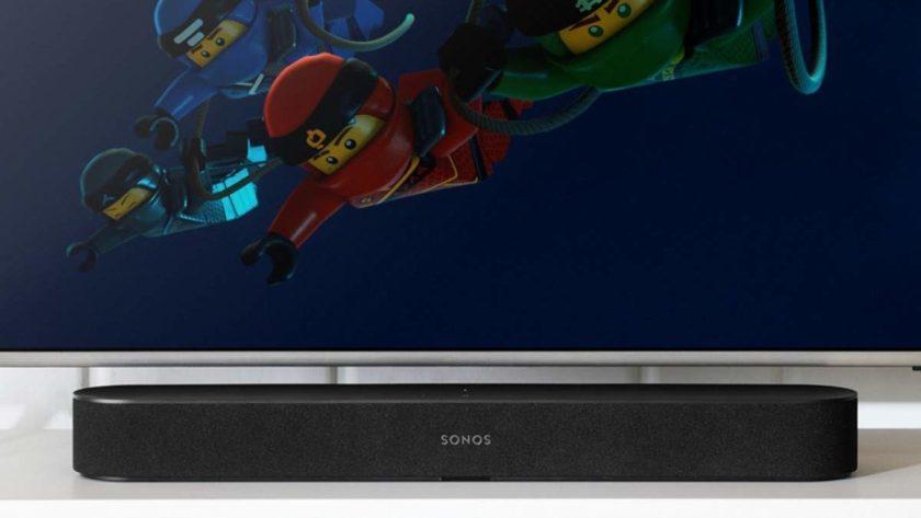 Sonos Beam Alexa soundbar lifestyle