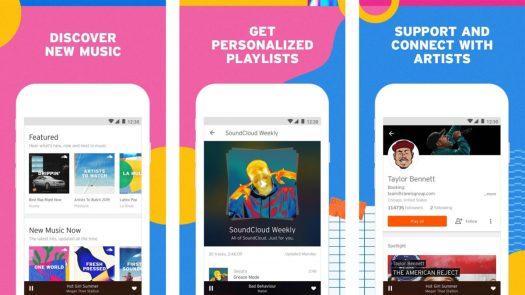 SoundCloud screenshot is the best musician apps