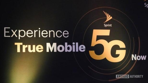 Sprint 5G Launch logo