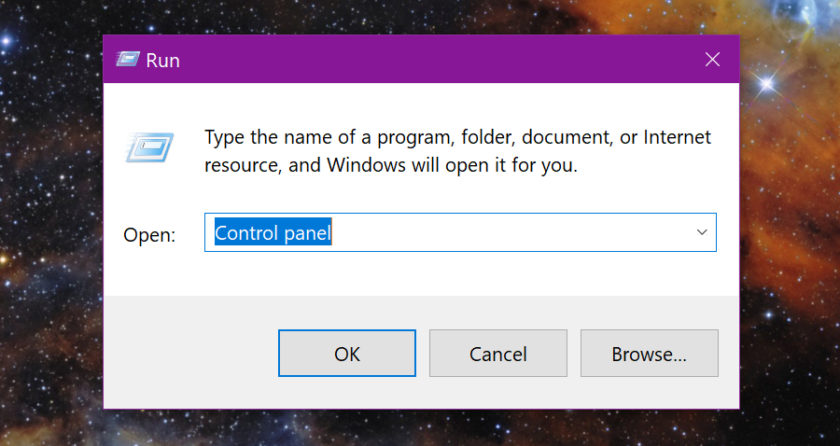 Windows 10 Control Panel Run - How to find Control Panel in Windows 10