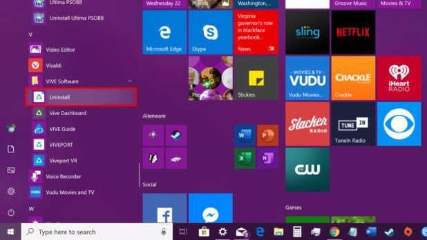 Windows 10 Manual Install - How to uninstall apps and programs on Windows 10