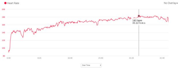 garmin forerunner 245 music heart rate sensor stats