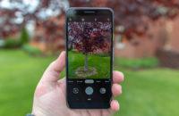 Google Pixel 3a Purple-ish Camera App