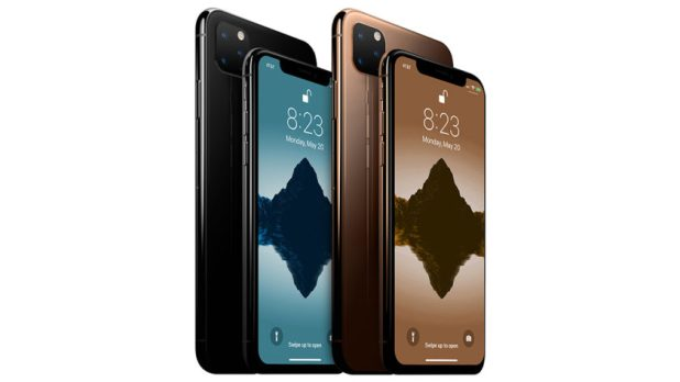 A render based on rumors of what the iPhone 11 could look like.