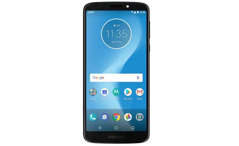 Motorola Moto G6 Play AT&T prepaid phone