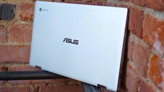 Asus Chromebook Flip C434 left profile