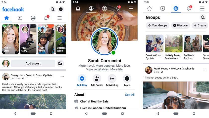 Facebook - одна из лучших альтернатив для Android для Android