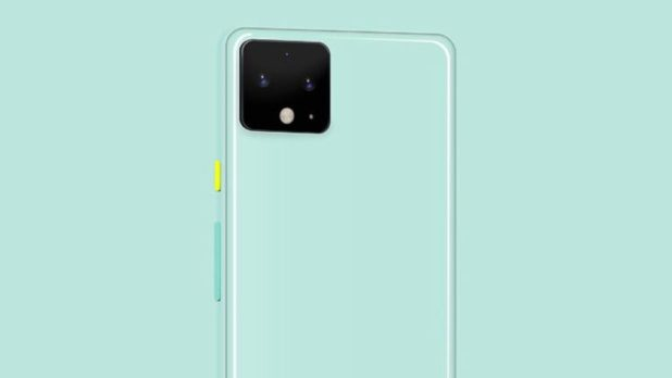 Supposed leaked renders of the Google Pixel 4 XL colors.
