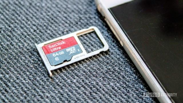 телефоны с расширяемой памятью