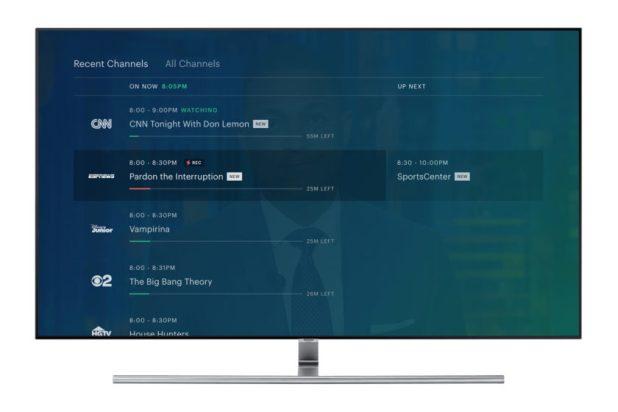 Hulu Live channels guide