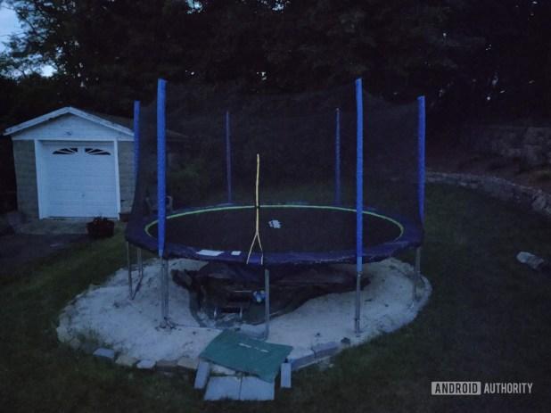 Motorola Moto Z4 Camera Sample trampoline