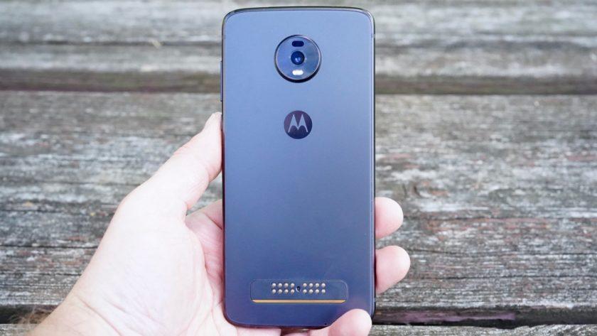 Motorola Moto Z4 review rear panel