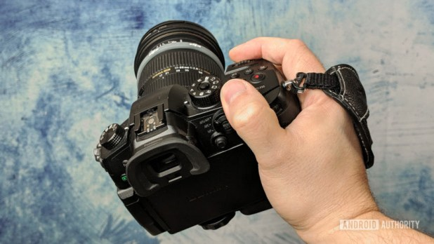 Panasonic GH5 DSLR camera Sigma lens back Jonathan Feist