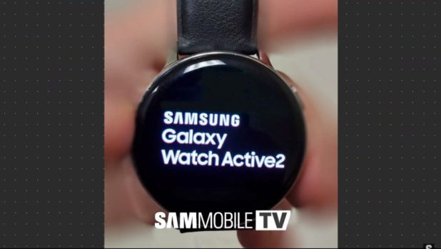 Leaked image of the Samsung Galaxy Watch Active 2 - 1