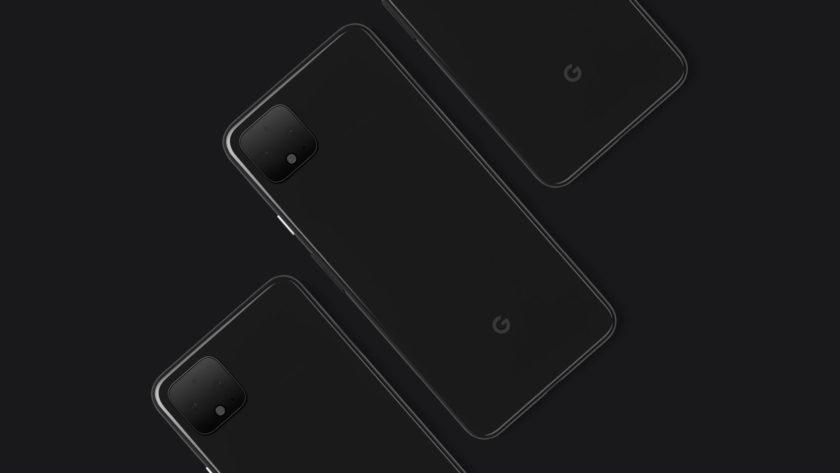 Show Google Pixel 4 XL side by side