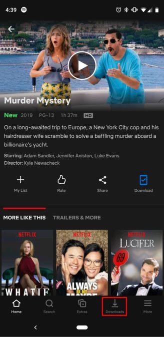 как скачать фильмы показывает Netflix 3