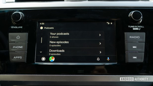 Android Auto Redesign Google Podcasts