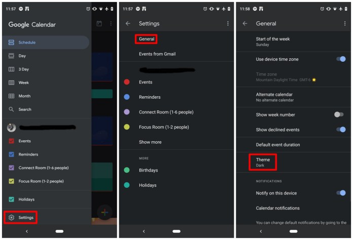 Here's how to turn on Google dark mode in select apps - Android ...
