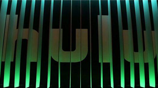 Hulu logo in the shades