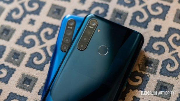 Realme 5 and Realme 5 Pro camera modules