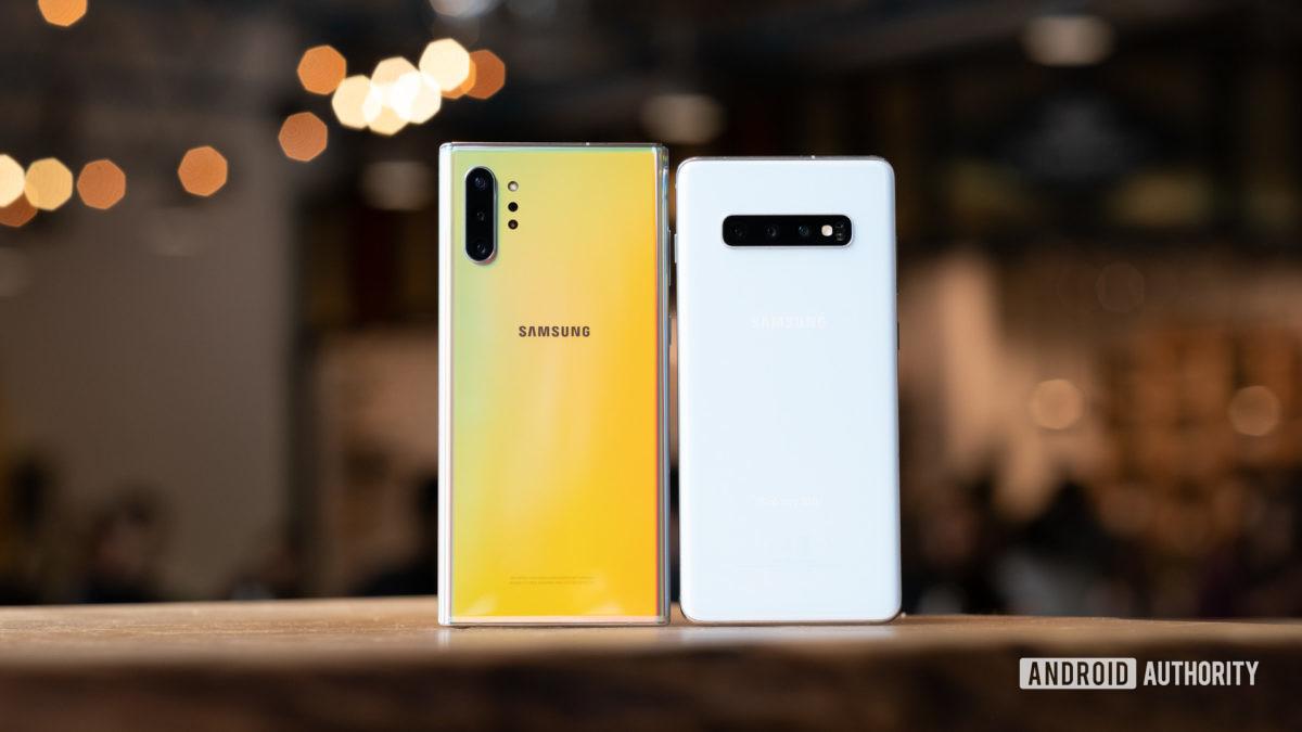 Обновление Android 10 для телефонов Samsung