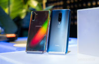 Samsung Galaxy Note 10 Plus vs OnePlus 7 Pro back on table 1