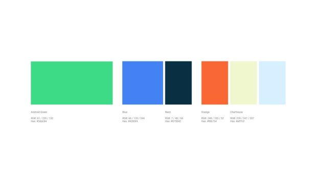 android color palette