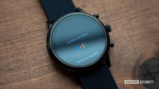 fossil gen 5 smartwatch review google assistant